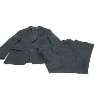 Chaps Boys 2 piece pinstripe suit